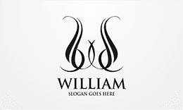 Classy Letter W Logo