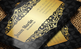 Decorative Business Cards