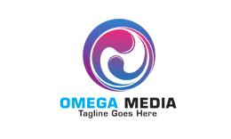 Omega Media - Letter O Logo