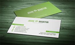Clem Simple Business Card