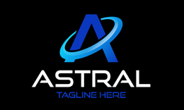 Astral • A Letter Logo Template
