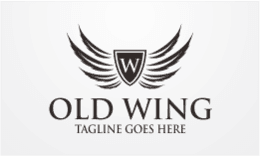 Old Wing - Crest Logo