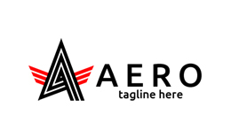 Aero Letter A Logo