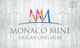 leter m business logo