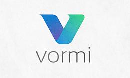 Vormi V Letter Logo