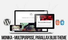 Monika - Minimal, Modern, Multipurpose Blog Theme
