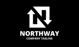 Northway • N Letter Logo Template