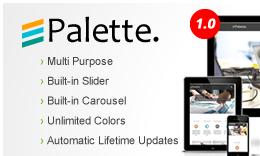 Palette Ultra Premium Multipurpose WordPress Theme
