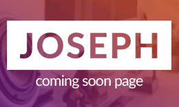 Joseph – HTML Coming Soon Page