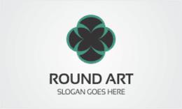 Round Art Logo