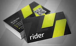Rider Business Card