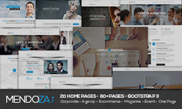 Mendoza - Multipurpose HTML Template