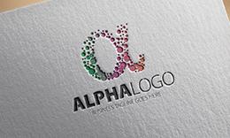 Alpha A Letter Logo