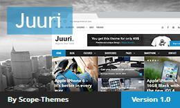 Juuri - Magazine News WordPress Theme