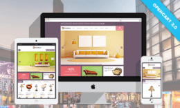 Pav Furniture - Responsive Opencart 2.0 theme