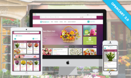 Pav Floral - Responsive Opencart Theme