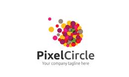 Pixel Circle Logo
