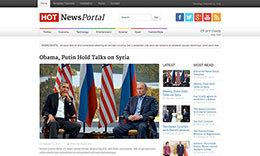 Hot News Portal Joomla Template