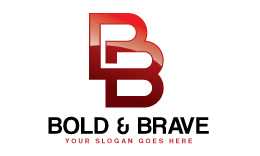 Bold and Brave Logo