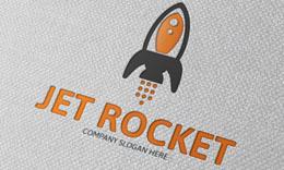 Jet Rocket Logo