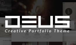 Deus Multipurpose Portfolio WordPress Theme