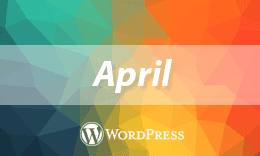 April - Elegant WordPress Theme for Blog and Gallery