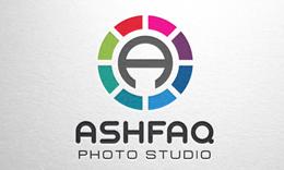 Ashfaq - Letter A Logo