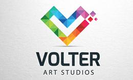 Volter - Letter V Logo