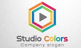 Studio Colors - Hexagon logo
