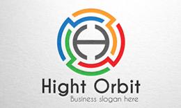 Hight Orbit - Letter H Logo