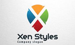 Xen Styles, Letter X Logo