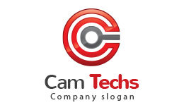 Cam Techs,Letter C Logo