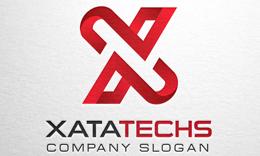 Xata Techs - Letter X logo