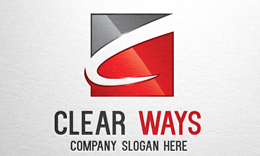 Clear Ways - Letter C Logo