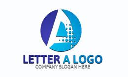 A Letter Logoß