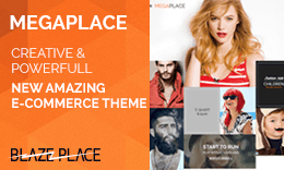 MegaPlace - New Amazing E-commerce Theme