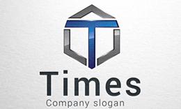 Times - Letter T logo