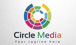 Circle Media - Letter C logo