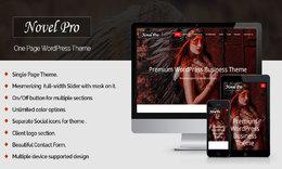 NovelPro Single Page Theme