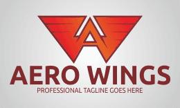 Letter A - Aero Wings Logo
