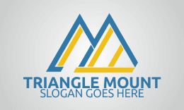 Triangle Mountain - Letter M