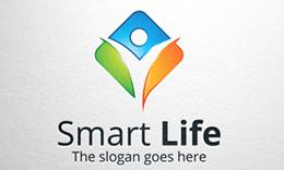 Smart Life - Active Human Logo.