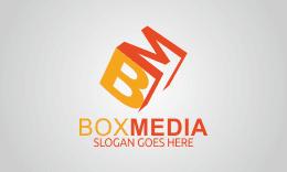 Box media - Letter B M Logo