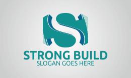 Strong Build - Letter S Logo