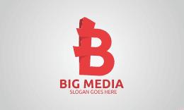 Big Media - Letter B Logo