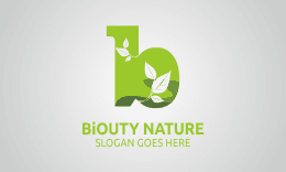 Biouty Nature - Letter B Logo