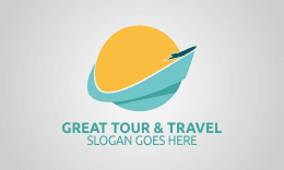 Great Tour and Travel Logo