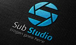 Sub Studio - Photographic Letter S Logo