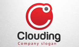 Clouding - Letter C logo