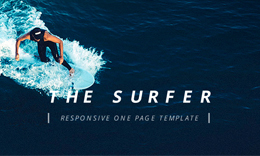 Surfers - One Page HTML5 Template